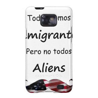 Todos Somos Inmigrantes Galaxy S2 Fundas