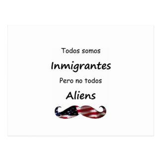 Todos Somos Inmigrantes Postcard