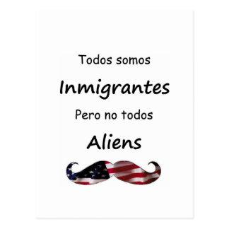 Todos Somos Inmigrantes Postal