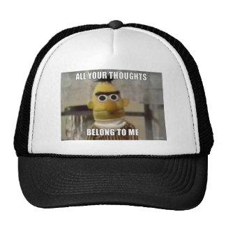 Todos sus pensamientos… gorra