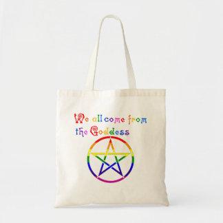 Todos venimos de la diosa - Pagan de LGBTQ Bolsas