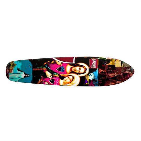 TODOSossantosdeck Skateboard Deck