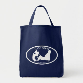 Tod's Point Dark Grocery Tote Grocery Tote Bag