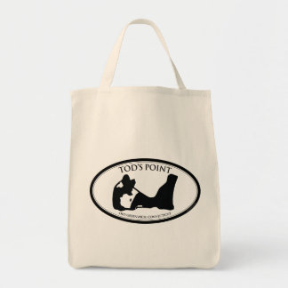 Tod's Point Organic Grocery Tote Grocery Tote Bag