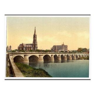 Todtenbrucke, Metz, Alsace Lorraine, Germany class Postcard