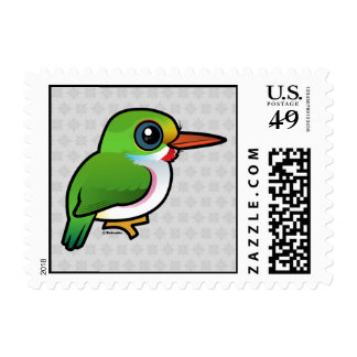 Tody del cubano de Birdorable Timbre Postal