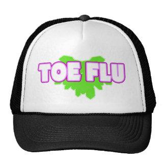 """TOE FLU"" Say What? Trucker Hat"
