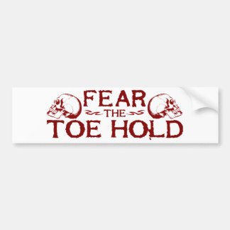 Toe Hold Bumper Stickers
