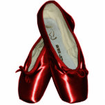 Toe Shoes Ballet Ornament (Red)