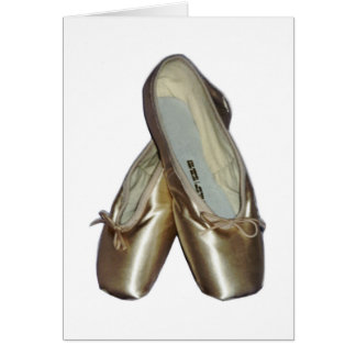 Toe Shoes Notecards Card