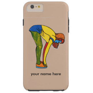 Toe Touch Exercise iphone 6 case