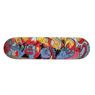 Toes at rest - skateboard deck