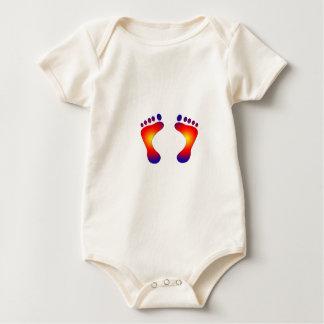 toes baby bodysuit