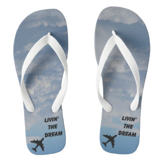 Toes in the Clouds! Flip Flops