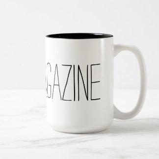 Toes Magazine Mug! Two-Tone Coffee Mug