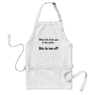 Toes Off! Adult Apron