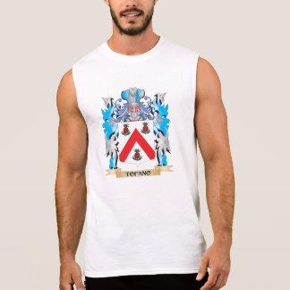 Tofano Coat of Arms - Family Crest Sleeveless Shirt