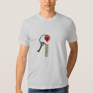 Toffee Apple Heart  | The Key to my Heart T-shirt