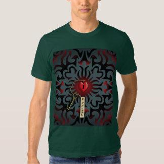 * Toffee Apple Heart  | The Key to my Heart Tee Shirt