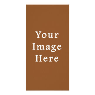 Toffee Brown Color Trend Blank Template