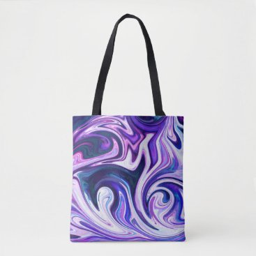 Beach Themed Toffee Swirl Tote