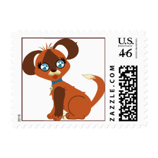 Toffee Toon Pup Postage