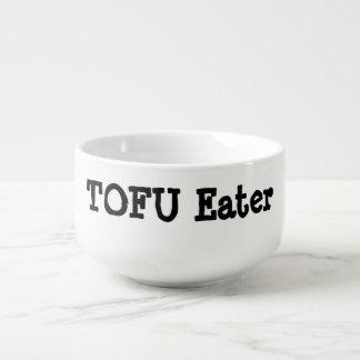 Tofu eater, personalised soup mug. soup mug