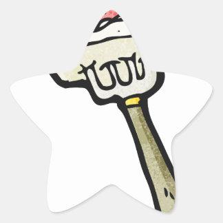 Tofu Never Screams Star Sticker