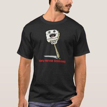 AprilShowersDesign Tofu Never Screams T-Shirt
