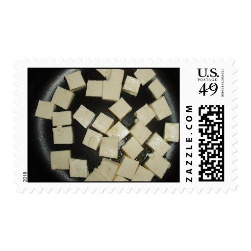Tofu Postage Stamp