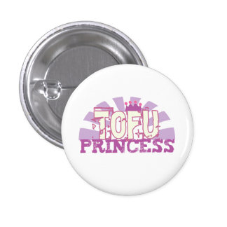 Tofu Princess Pinback Button