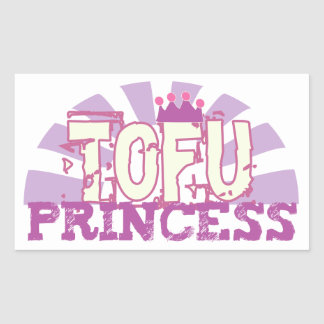 Tofu Princess Rectangular Sticker