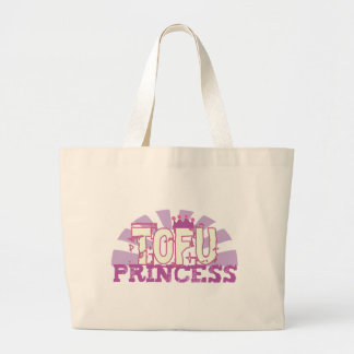 Tofu Princess Tote Bags