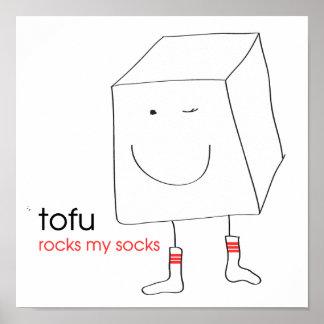 Tofu Rocks My Socks Poster