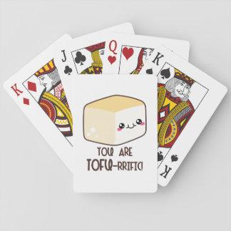 Tofu-rrific Emoji Playing Cards