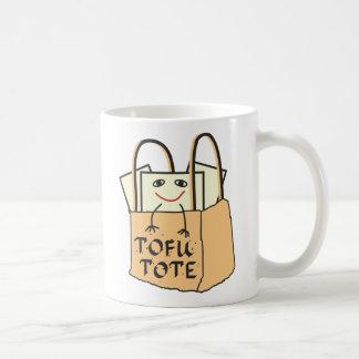 TOFU TOTE for Vegetarians and Vegans Classic White Coffee Mug