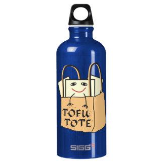TOFU TOTE Tote Bag for Vegetarians and Vegans SIGG Traveler 0.6L Water Bottle