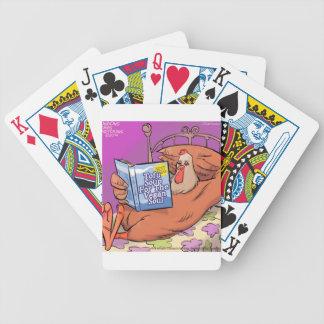 Tofu Vegan Soul Funny Bicycle Playing Cards
