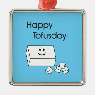 Tofusday feliz adorno de reyes
