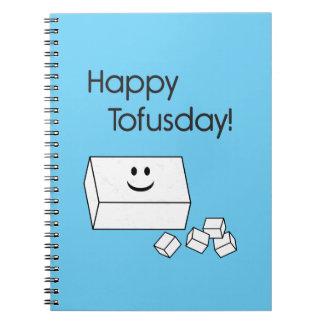 Tofusday feliz libros de apuntes