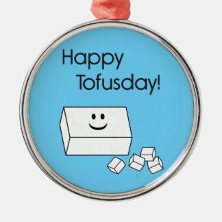 Tofusday feliz ornaments para arbol de navidad