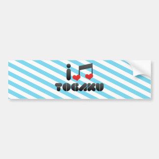 Togaku fan bumper stickers