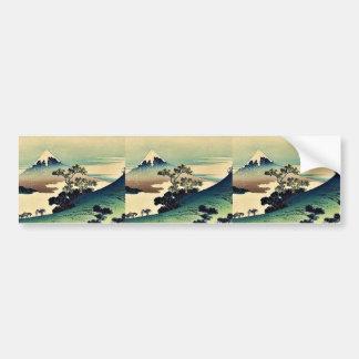 Toge del inume de Koshu por Katsushika, Hokusai Uk Pegatina Para Auto