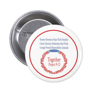 Together, 9-12 Project Pinback Button