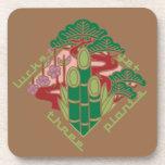 japan pine bamboo plum auspicious symbol pop cartoon 松竹梅 縁起 日本 japanese 吉兆 めでたい マーク シンボル 和風 イラスト ポップ illustration
