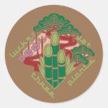 もう一つの日本アート japan pine bamboo plum auspicious symbol pop cartoon The Shochiku Co. Ltd. plum Luck Japan japanese Good omen It is joyous Japanese style Illustration Pop