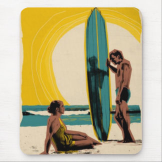 Together at the Beach mousepad