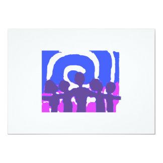 Together - Blue Custom Invite