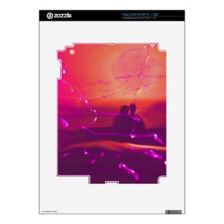 together, broken glass skin for iPad 2