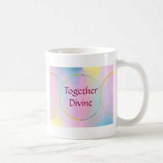 Together Divine Positive Affirmation Coffee Mugs